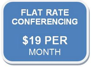 Flat Rate Conferencing Calls from Canada