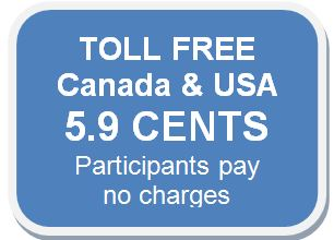 Toll Free Conference Calls from Canada and USA